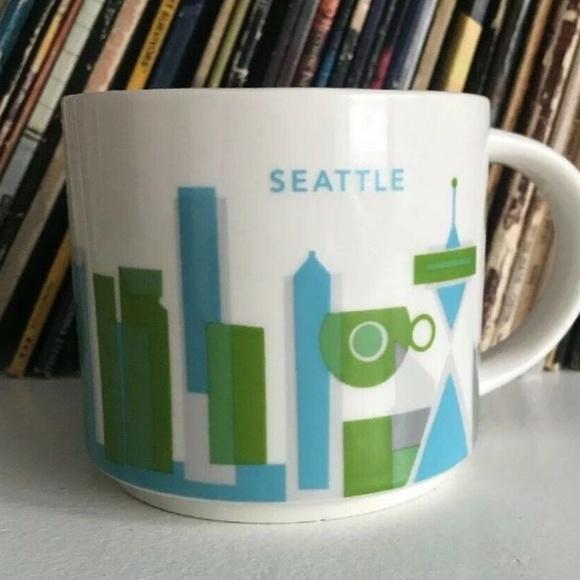 Seattle Starbucks You Are Here Mug Yah 14 Oz 2014